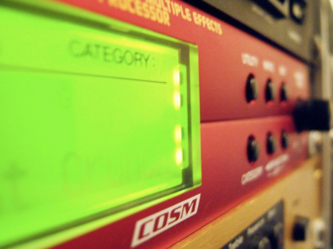 How to connect a guitar processor