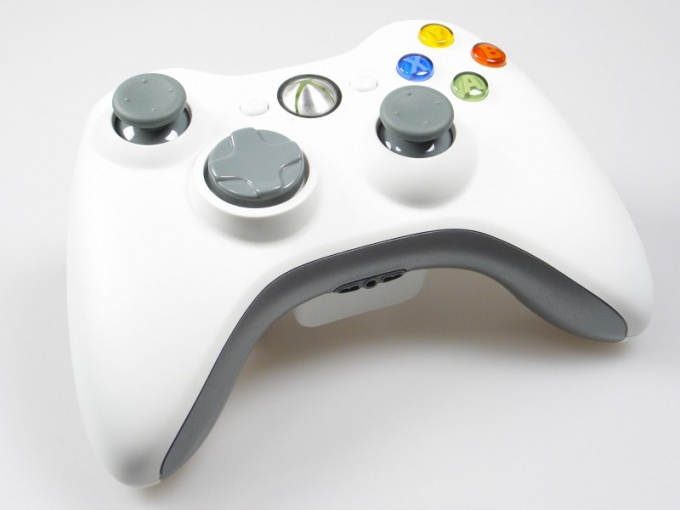 How to configure the joystick xbox 360