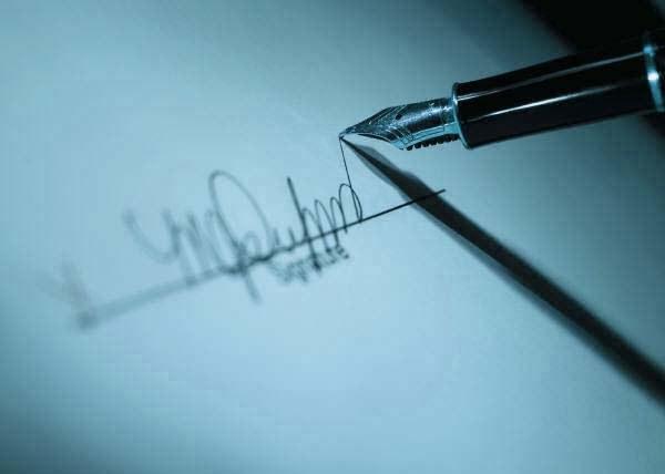 Как научиться ставить подпись