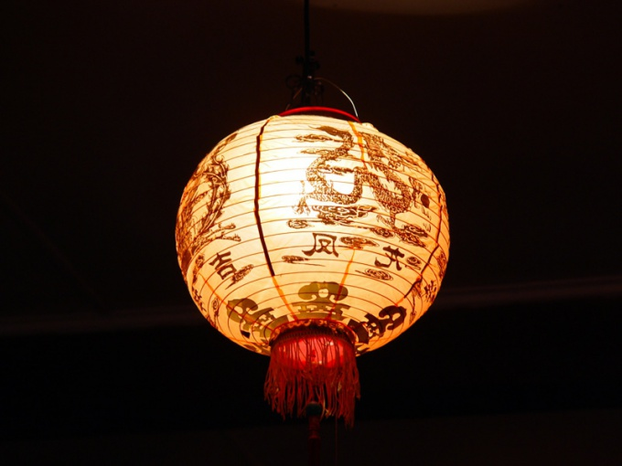 Chinese lantern is a perfect decoration not only for the New Year