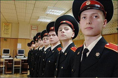How to enter in the Suvorov military school