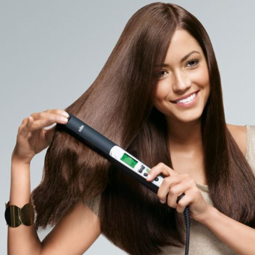 Выпрямитель для волос - скажи кудряшкам до свидания