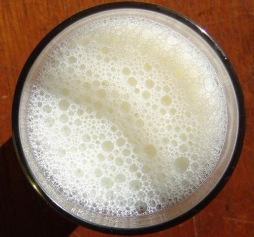 Разведенное сухое молоко