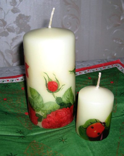 Как сделать свечи в домашних условиях своими руками