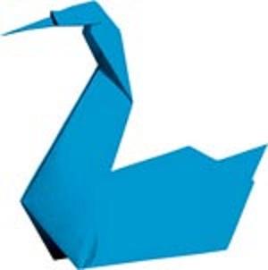 Лебедя-оригами под силу сделать и взрослому и ребёнку