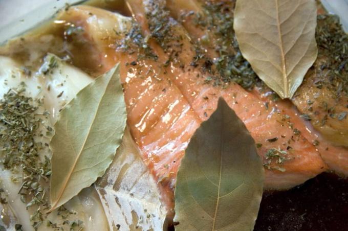 Как запечь семгу в духовке