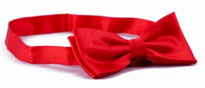 How to sew a bow-tie