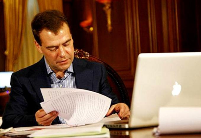 Как написать президенту медведеву
