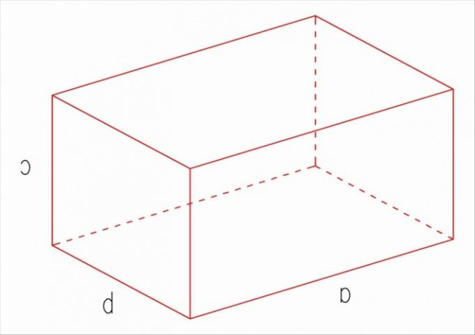 Площадь параллелепипеда: как найти