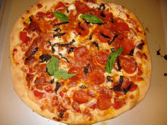 Как готовить тесто к пицце