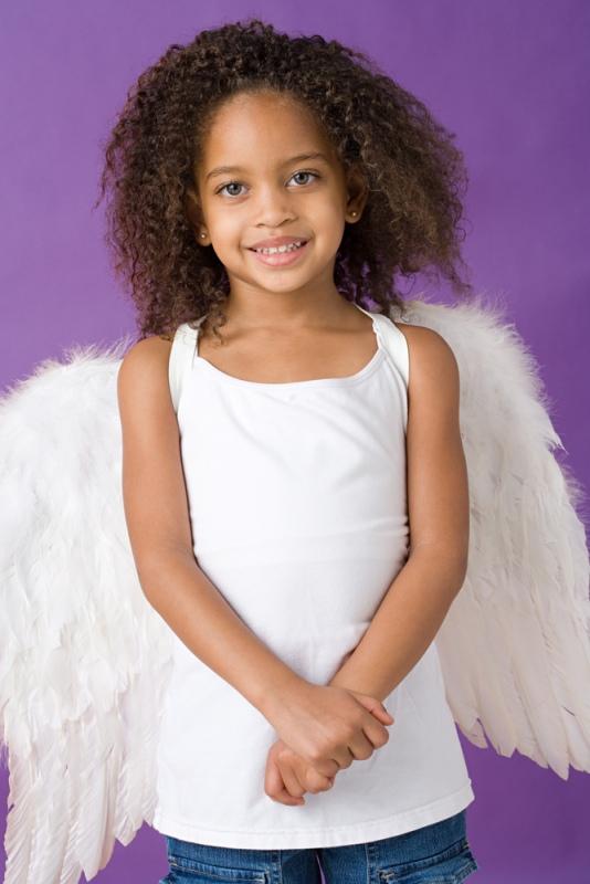Сделайте ребенку ангельские крылышки - благодарность будет безграничной