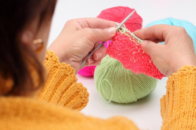 Вязание узора