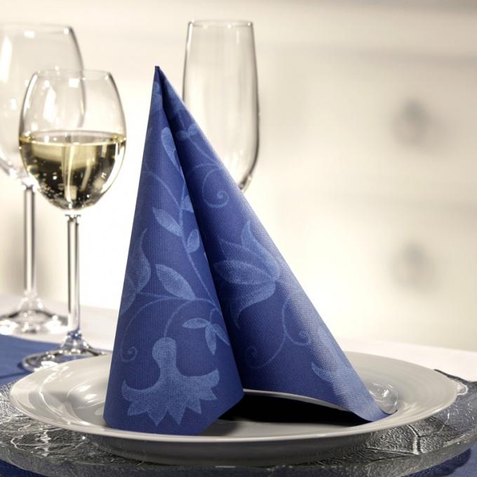 Красивые салфетки: как сервировать стол