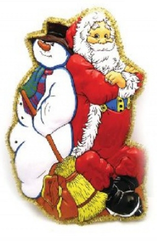 Снеговик – главный помощник Деда Мороза.