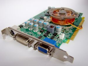 Most video cards have multiple interfaces