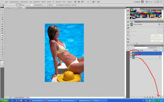 Как сделать копию на фотошопе