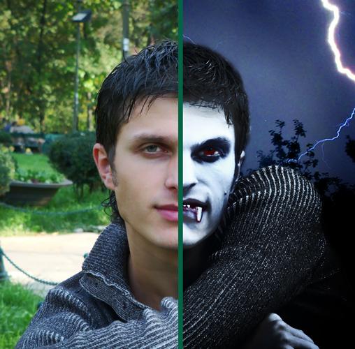 Как делать самому из себя вампира - Spbteplichka.ru