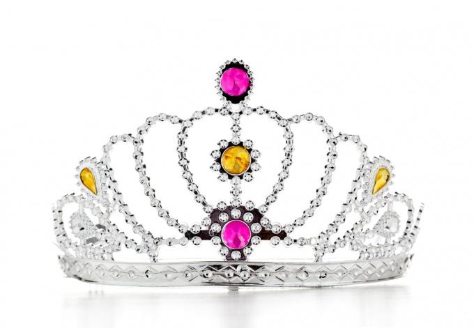 Как сделать корону принцессы