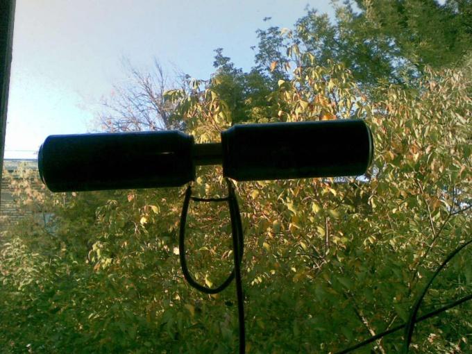Такая простая антенна. И такая результативная