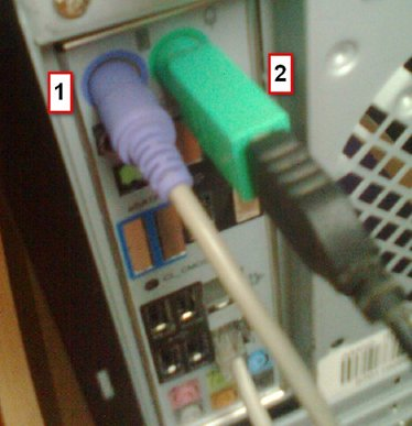 How to connect the system unit