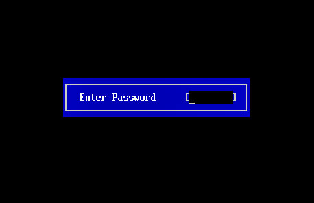 How to put a password on the computer