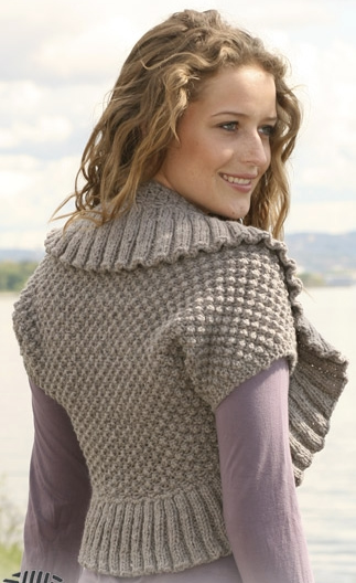 How to knit knitting Bolero