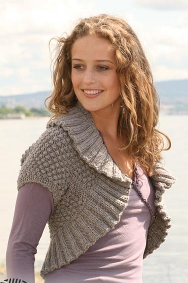 How to knit knitting Bolero