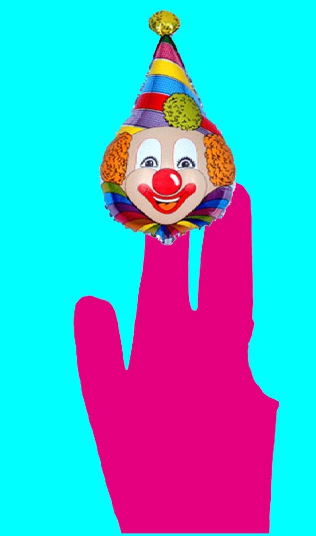 Клоун из старой перчатки