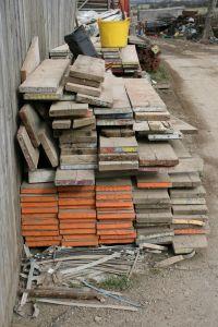 Подготовьте место для хранения строительных материалов
