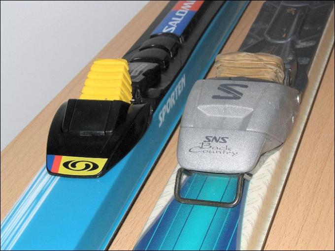 Как крепить лыжное крепление