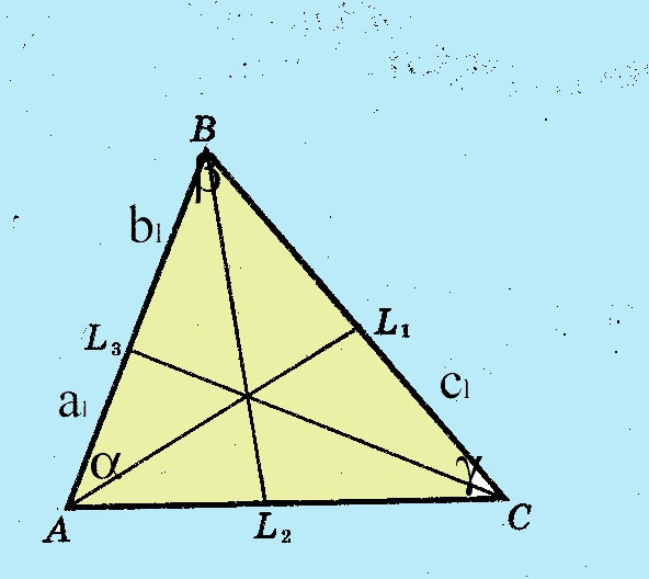 Как найти <strong>биссектрису</strong> <b>треугольника</b>