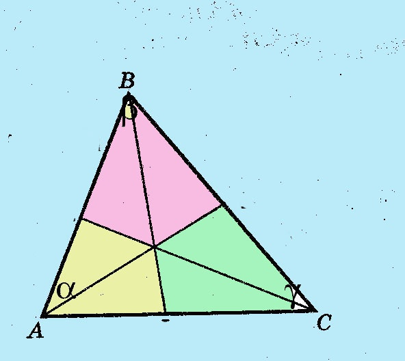 Как найти биссектрису треугольника