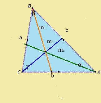 Как найти <strong>медиану</strong> <b>треугольника</b>