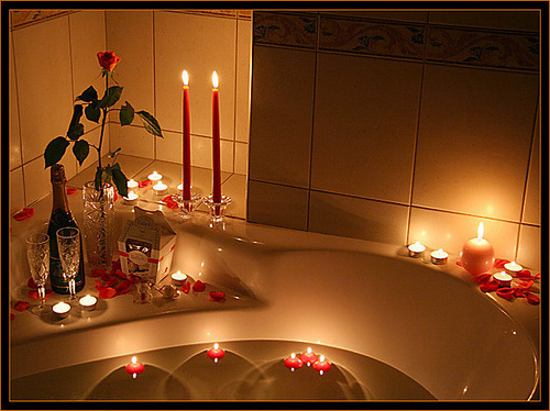 For recognition, create a romantic atmosphere