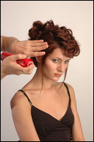 How to make a hairdress at home
