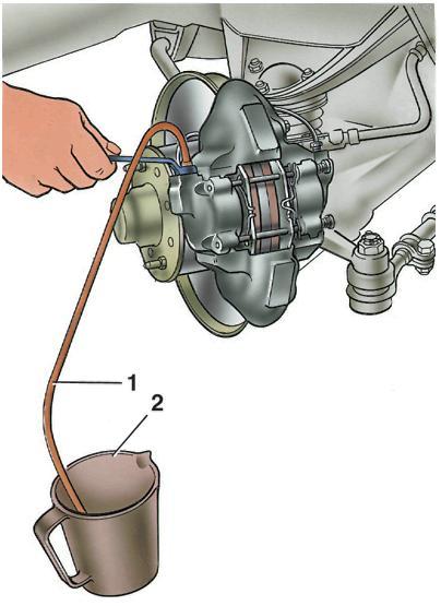 Как прокачать тормоза в ВАЗе