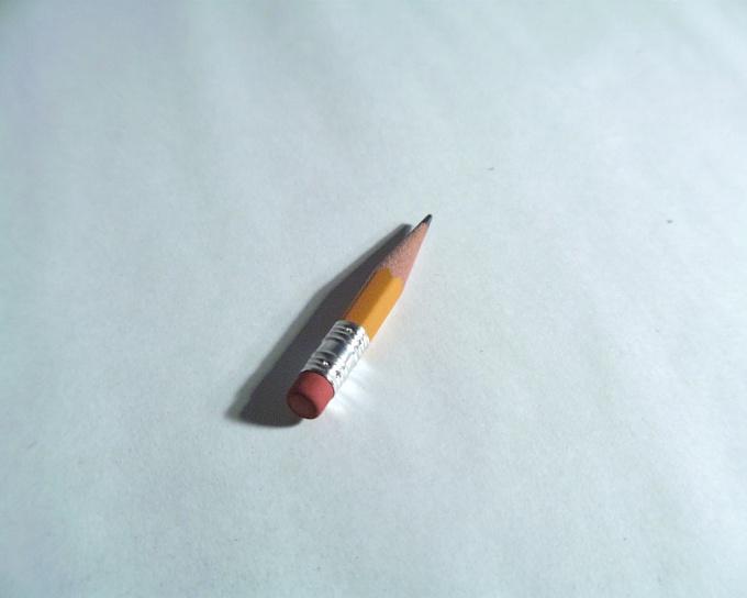 Начинайте рисование с карандашного наброска