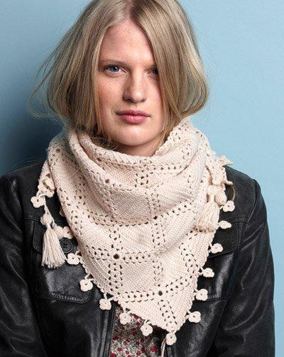 Излюбленный модниками способ носить шарф.