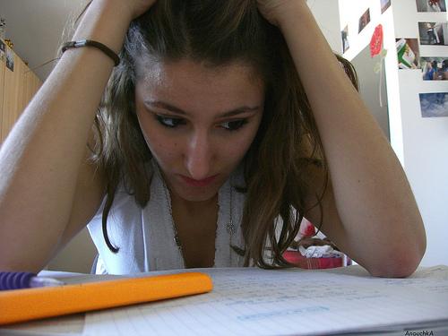 Половина успеха на экзамене зависит от эмоционального состояния
