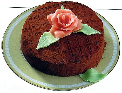 Как сделать украшение на торт