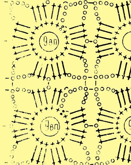 Схема рисунка жакета