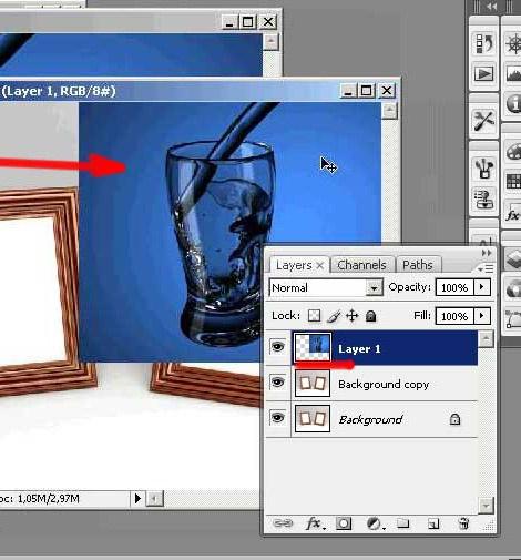 Как объединить <strong>фотографии</strong> в <b>фотошопе</b>