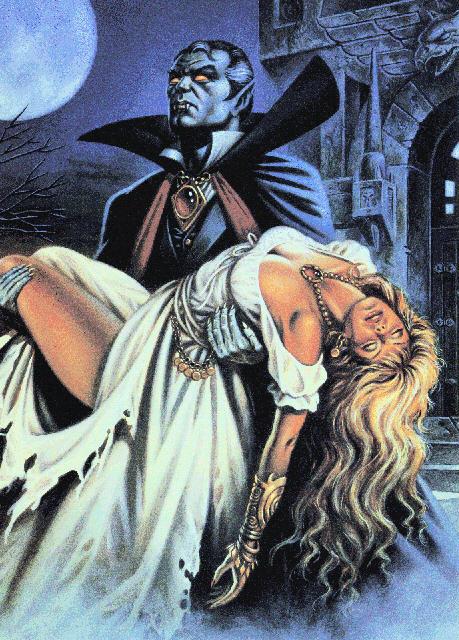 Как сделать вампира