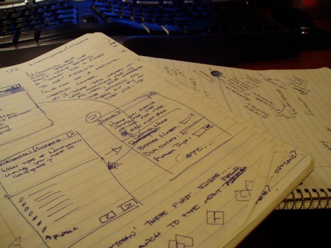 Написание плана работы - процесс творческий