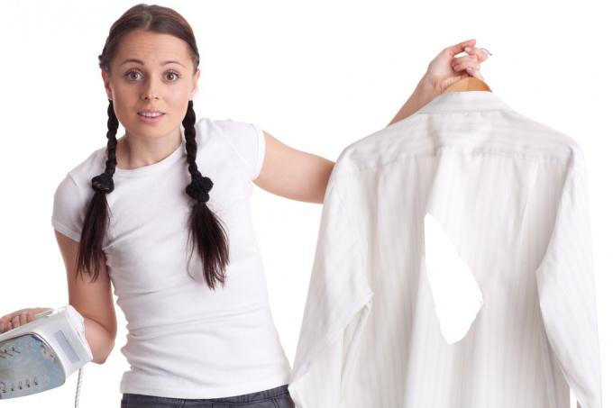 Мятая рубашка выглядит неаккуратно