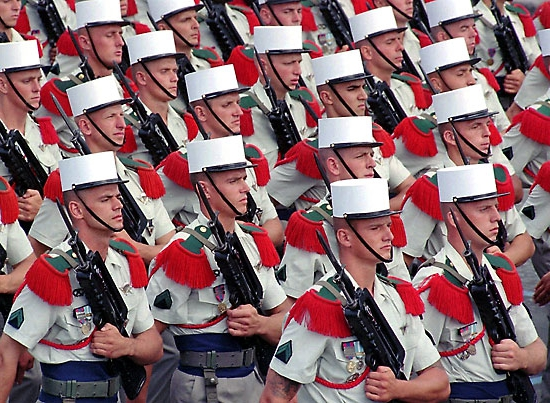 Legionnaires Of The French Foreign Legion