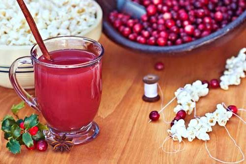 Клюква - одна из самых популярных ягодных основ морса.