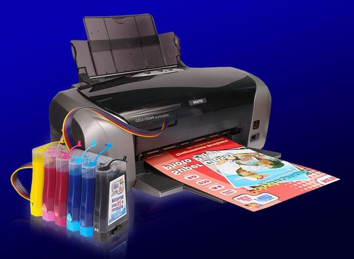 фотография в принтере