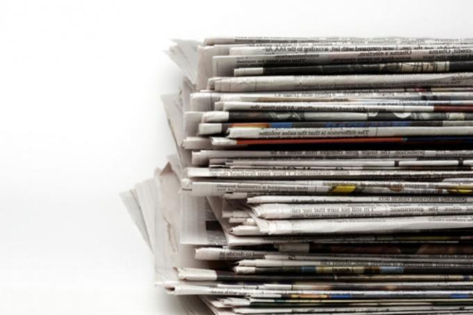 Как дать объявление в газету
