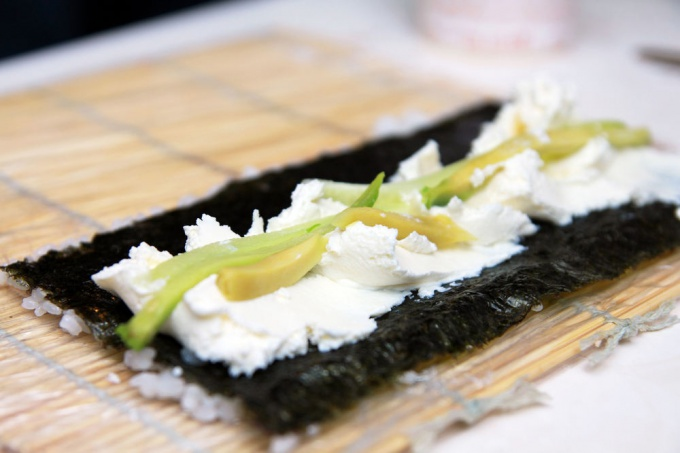 Роллы - аппетитные рулетики с рисом